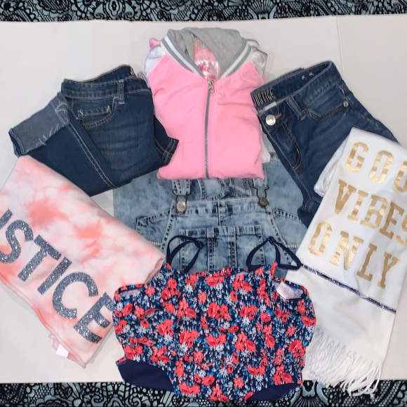 Justice Other - JUSTICE SIZE 14 KIDS BUNDLE